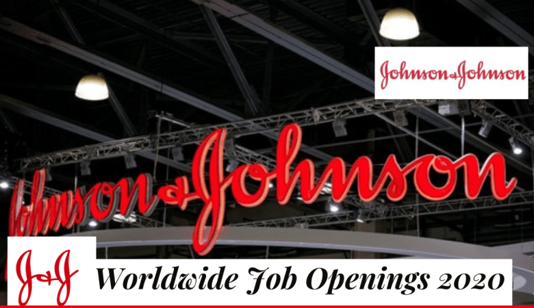 Johnson and Johnson Job Vacancies