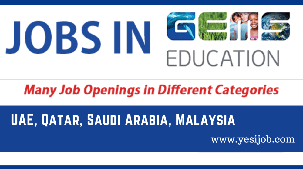 GEMS Education School Jobs