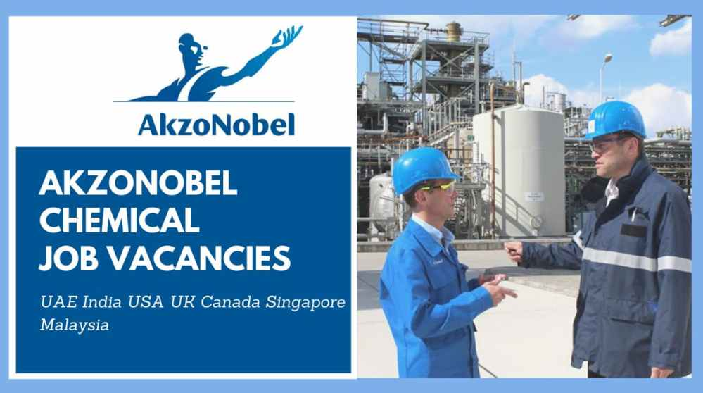 AkzoNobel Chemical Job Vacancies