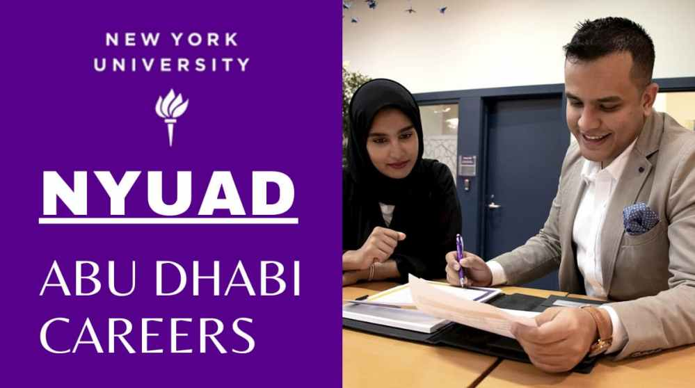 Job Opportunities at NYUAD