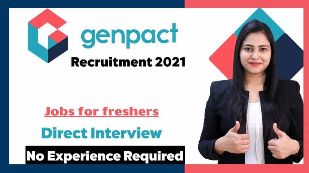 Genpact Jobs for Freshers