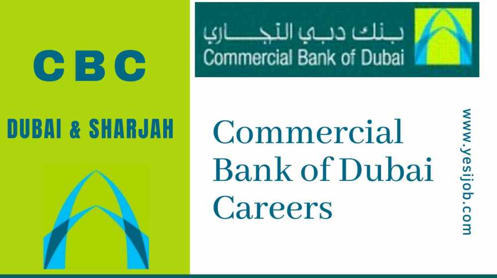 Commercial Bank of Dubai Careers