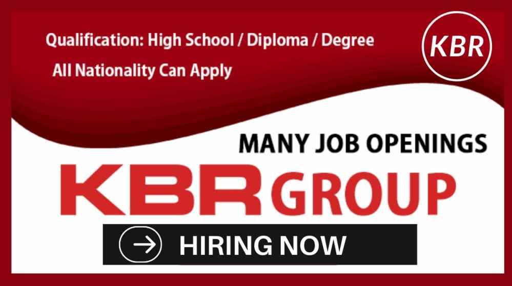 Job Vacancies at KBR