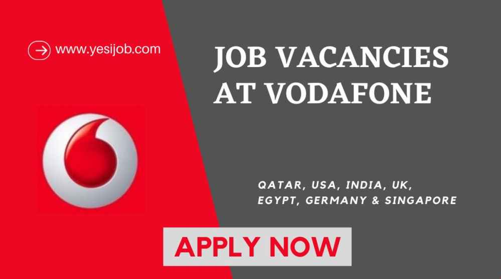 Vodafone Jobs Careers