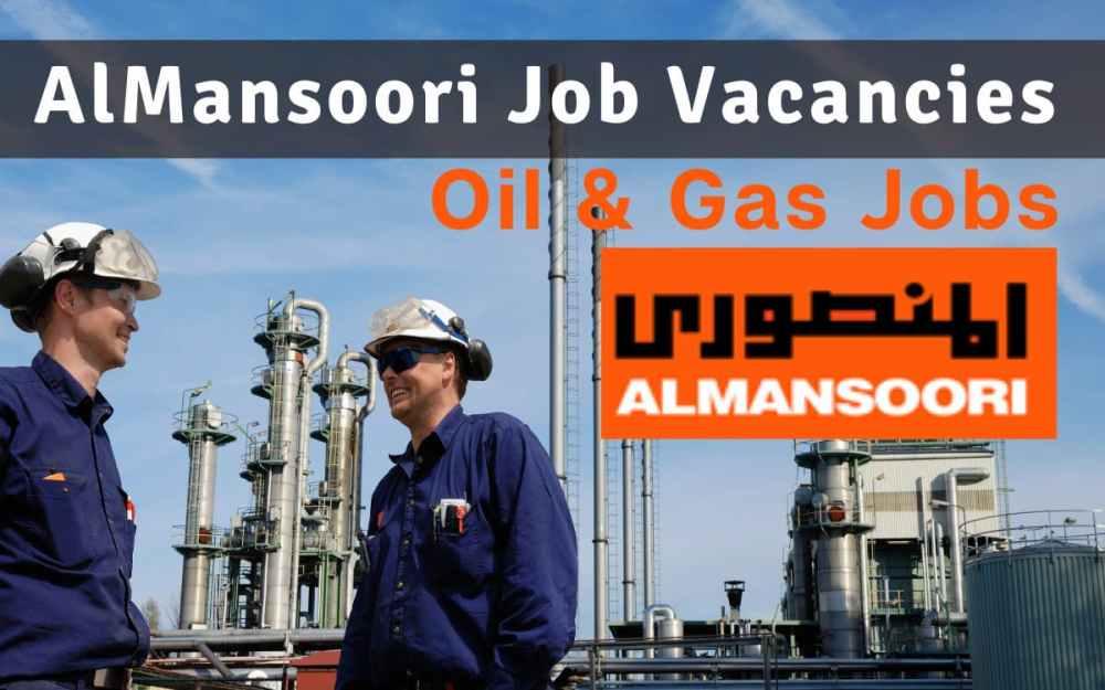 AlMansoori Job Vacancies