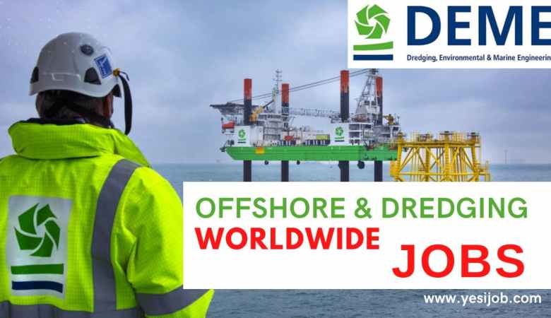 DEME Group Offshore and Dredging Jobs