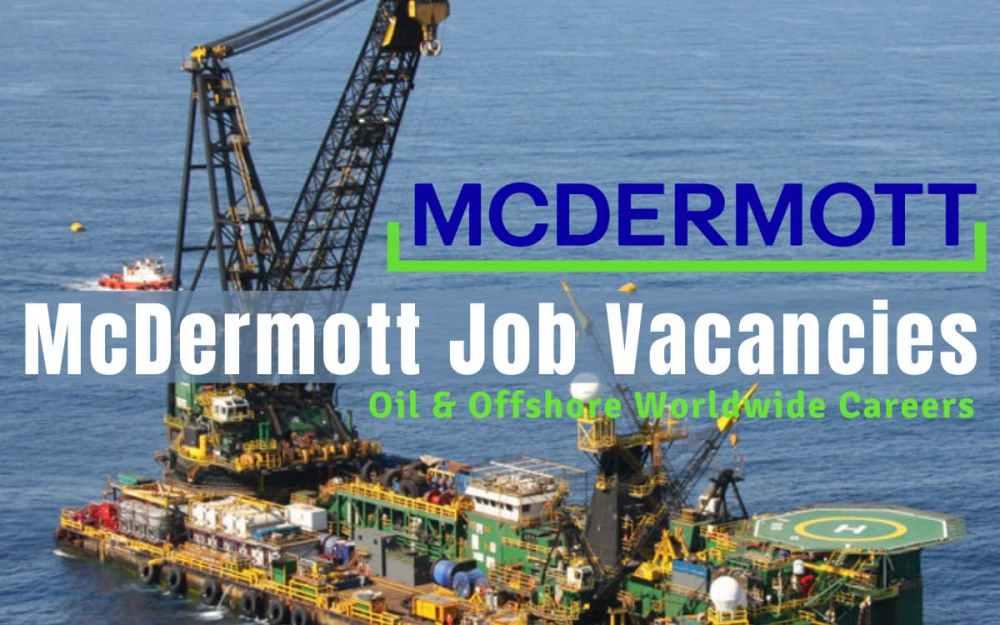 McDermott International Jobs