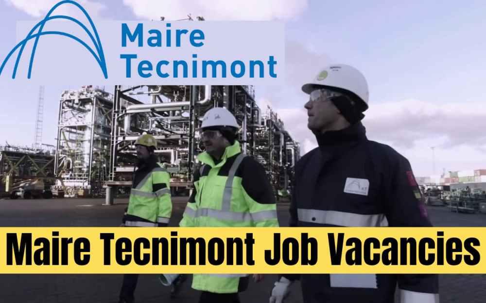 Maire Tecnimont Job Vacancy