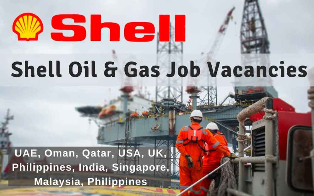 Shell Oil and Gas Job Vacancy