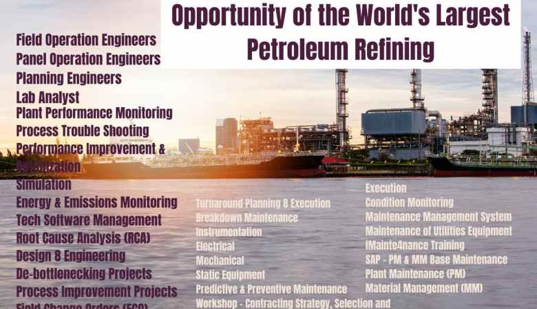 Opportunity of the World's Largest Petroleum Refining