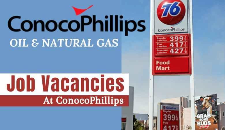 ConocoPhillips Jobs USA, Canada, Australia, UK, Norway