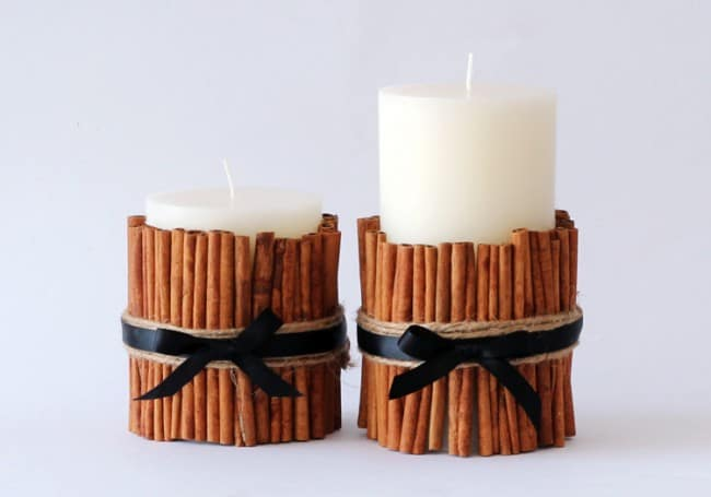 DIY Cinnamon Candles That Look Great And Smell Even Better