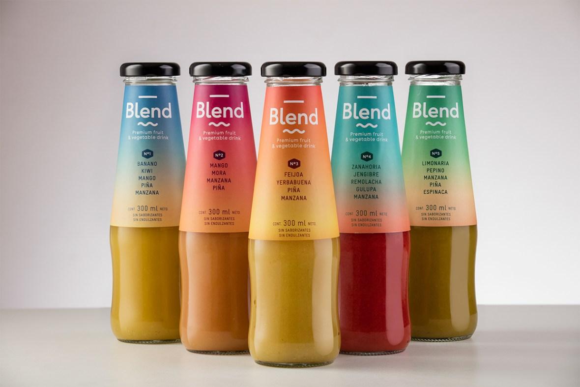 Blend, a premium fruit & vegetable drink brand