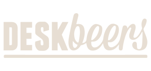 YesMore Social Media Agency client DeskBeers logo with transparent background