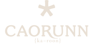 YesMore Social Media Agency client Caorunn logo with transparent background