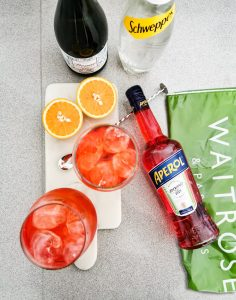 Waitrose Instagram Content by Ed Brown for Aperol Spritz by YesMore Off Trade Marketing Agency