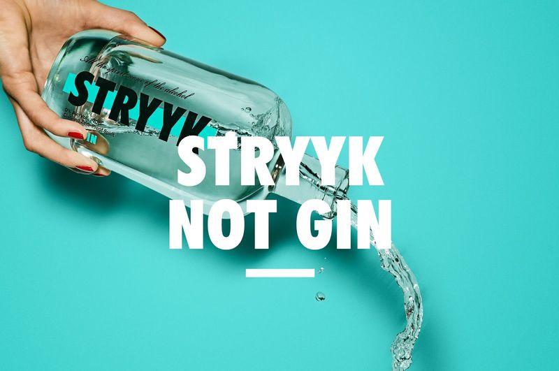 STRYYK Not Gin Alcohol Free Spirit for Best Alcohol Free Drinks article on YesMore Alcohol Free Marketing Agency