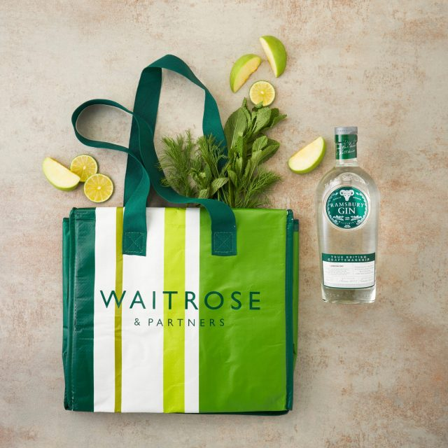 Ramsbury Single Estate Gin brand, with Waitrose content, a YesMore Gin Marketing Agency client for social media
