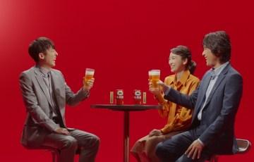 江口洋介、杏、高橋一生が目隠しで飲み比べに挑戦