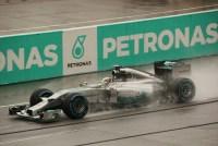Lewis während dem Qualifying in Malaysia