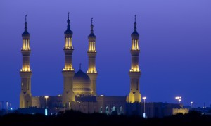 Sheikh Zayed Moschee in Ras al Khaimah VAE United Arab Emirates