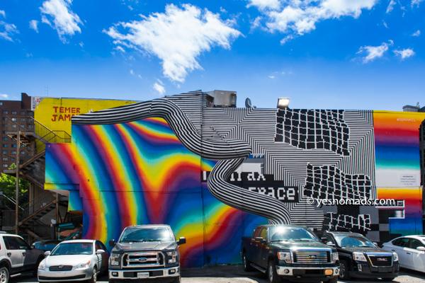 Foto Der Woche - Wandgemälde in Montreal