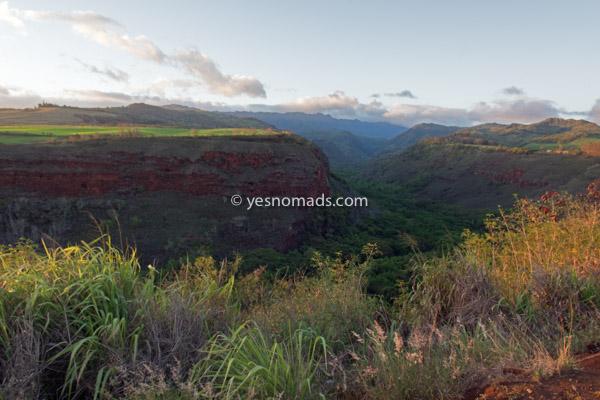 Hanapepe Valley Aussicht