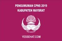 Pengumuman CPNS Kabupaten Maybrat Tahun 2019