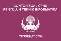 Contoh Soal CPNS Penyuluh Teknik Informatika dan Jawabannya 2019