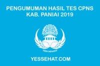 Pengumuman Hasil Tes CPNS Kabupaten Paniai 2019