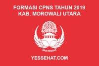 Formasi CPNS Kabupaten Morowali Utara Tahun 2019
