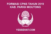 Formasi CPNS Kabupaten Parigi Moutong Tahun 2019