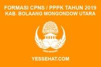 Formasi CPNS / PPPK / P3K Kabupaten Bolaang Mongondow Utara 2019