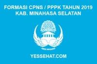 Formasi CPNS / PPPK / P3K Kabupaten Minahasa Selatan 2019