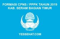 Formasi CPNS / PPPK / P3K Kabupaten Seram Bagian Timur 2019