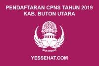 Pendaftaran CPNS Kabupaten Buton Utara Tahun 2019