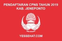 Pendaftaran CPNS Kabupaten Jeneponto Tahun 2019