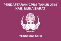 Pendaftaran CPNS Kabupaten Muna Barat Tahun 2019