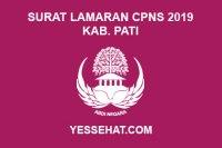 Contoh Surat Lamaran CPNS Kabupaten Pati 2019