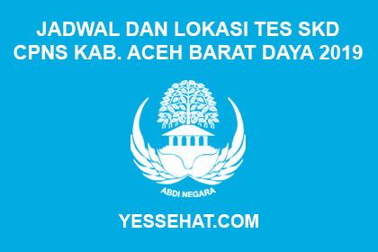 Jadwal Dan Lokasi Ujian Tes Skd Cpns Kabupaten Aceh Barat Daya Tahun 2019