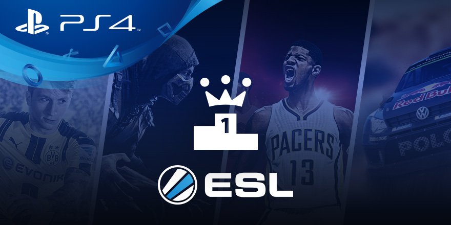 playstation tournaments, Dalla collaborazione tra PS4 e ESL nasce PlayStation Tournaments