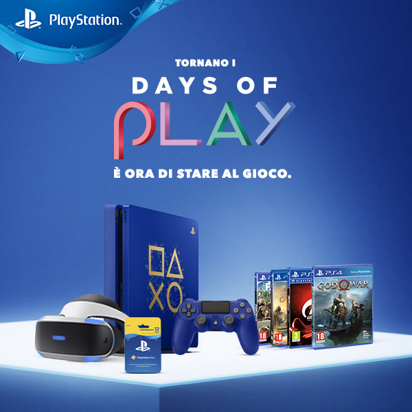 days of play, Sony annuncia il ritorno dei Days of Play