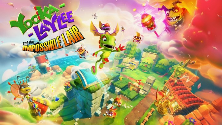Yooka-Laylee and the impossible Lair Annunciato! 2