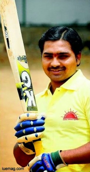The story of a blind cricketer