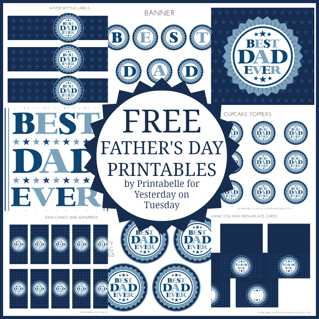 Free Father S Day Printables