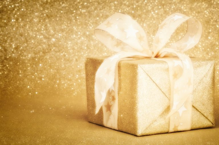 The Gold Wrapping Paper