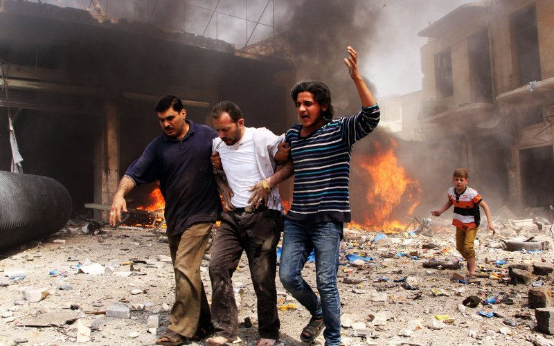 Last Rebels in Aleppo Say Assad Forces Are Burning People Alive