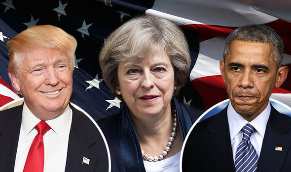 Back to the FRONT: Trump makes British trade deal 'top priority' after Obama's Brexit snub