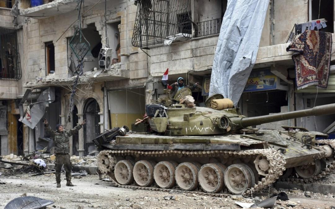 Explosion rocks Syria's Aleppo as residents return