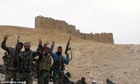 Syria admits loss of Palmyra to IS